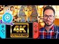 Nintendo Switch 4K ? Image de God of War Egypte, Battlefield V en difficulté, GamescomCaroJu