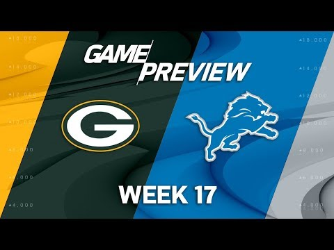 Video: Green Bay Packers vs. Detroit Lions | NFL Week 17 Game Preview | NFL Total Access