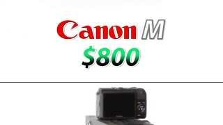 Canon Mirrorless M Vs T4i | Comparison&Review | Training Tutorial Video | M Vs 650D