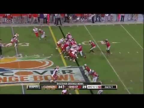 Jeff Heuerman vs Purdue/Clemson 2013 video.