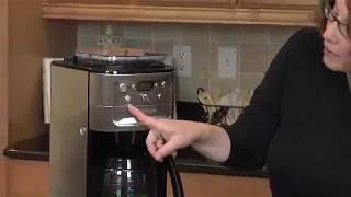 Burr Grind & Brew™ 12 Cup Automatic Coffeemaker Demo Video Icon