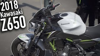 4. 2018 Kawasaki Z650   First Ride & Review (MT07 Comparison)