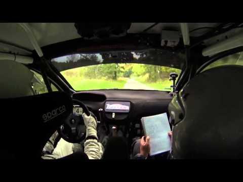 Testy przed 24. Rajdem Dolnośląskim 2014 - Pieniążek/Ciupka - Peugeot 208 R2
