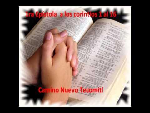 LA BIBLIA HABLADA. 1 CORINTIOS 1 AL 16.