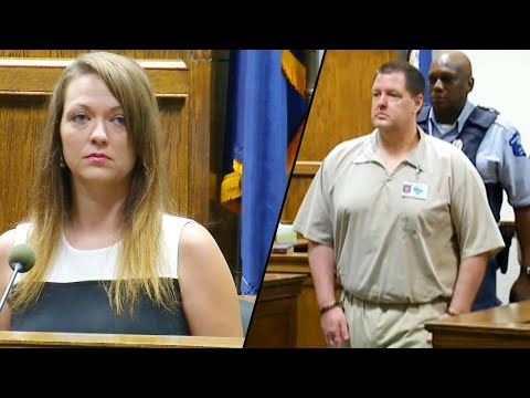 Woman Kept in Shipping Container Faces Serial Killer Todd Kohlhepp in Court (видео)