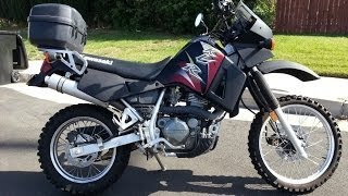 3. 2004 Kawasaki KLR650 with Truck Bedliner Paint from Walmart