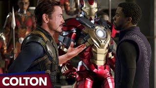 Video Is Tony's new Iron Man suit made of Vibranium in Avengers Infinity War? MP3, 3GP, MP4, WEBM, AVI, FLV Maret 2018