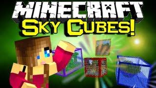 Minecraft SKY CUBES SURVIVAL MAP Spotlight - Will You Survive? (Minecraft Custom Map Showcase)
