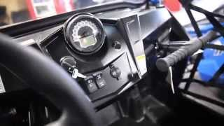 6. 2014 Polaris RZR S 800 Stealth Black LE