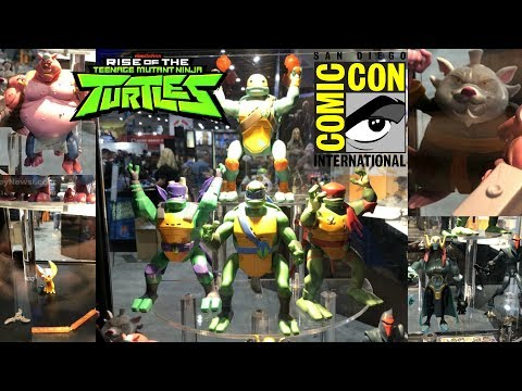 Rise Of The TMNT San Diego Comic Con 2018 Reveals (SDCC 2018)