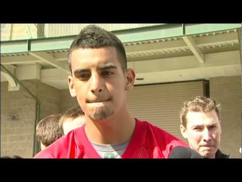 Marcus Mariota Interview 4/2/2013 video.