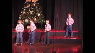 "Kincaid Gooch Wild Bunch ""Santa's Gonna Come In A Pickup Truck"" Christmas 2011"