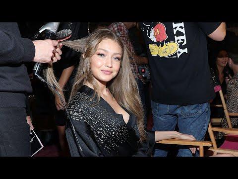 Victoria's Secret Fashion Show 2018: Gigi Hadid Backstage Interview (Exclusive)