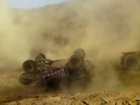Baldwin Trophy Truck turn over Baja 1000 2009 (1 of 4)