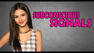 Video SIGNS SHE'S FLIRTING WITH YOU | SUBCONSCIOUS SIGNALS | DOES SHE LIKE YOU MP3, 3GP, MP4, WEBM, AVI, FLV Agustus 2019