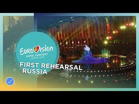 Julia Samoylova - I Won't Break - First Rehearsal - Russia - Eurovision 2018 (видео)