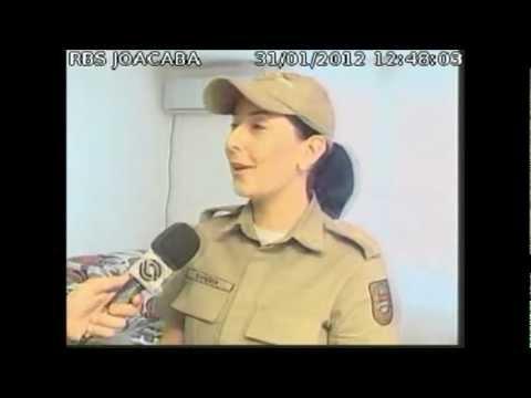 Policial Militar Suiene salva bebê em Lages