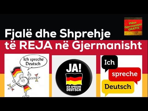 Ich spreche Deutsch I A1 I A2 I B1 I Unë flas gjermanisht I I speak German