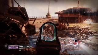 Destiny 2 Nightshade Legendary Pulse Rifle Gameplay