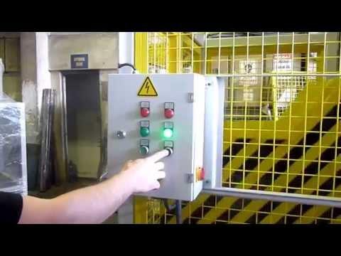 Asansörlü Kırma Makinesi