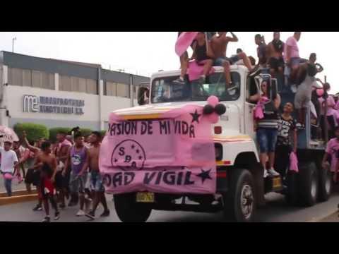 NOCHE ROSADA 2017 - Barra Popular Juventud Rosada - Sport Boys