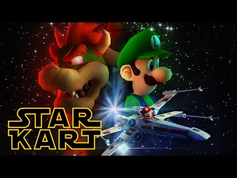 Star Kart An Awesome 3D Animated Mashup of Star Wars and Mario