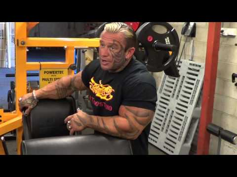 Lee Priest Gives Some Great Tips for Bodybuilders