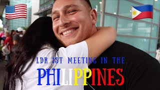 LDR | FIRST TIME MEETING | AMERICAN - FILIPINA | USA 🇺🇸 ❤️ 🇵🇭 PHILIPPINES | K1 FIANCE VISA