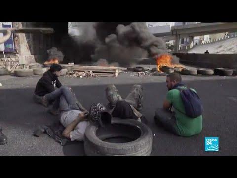 Liban : la crise s'aggrave et les blocages de route se poursuivent