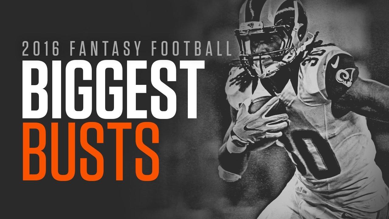 Top Ten 2016 Fantasy Football Busts thumbnail