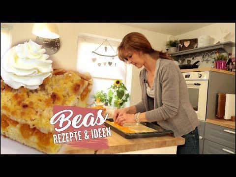 Aprikosen Blechkuchen Rezept mit Streusel | Lecker Backen | Streuselkuchen vom Blech
