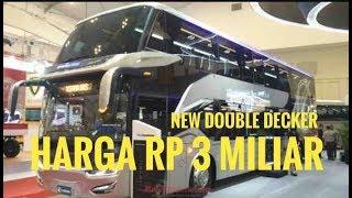 Video Bus Double Decker Scania Laksana, Sumpah Keren Banget  | GIIAS 2018 MP3, 3GP, MP4, WEBM, AVI, FLV Maret 2019