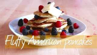 How to Make American Style Pancakes