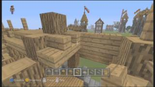 How to build a Medieval Barracks in Minecraft - Part 2