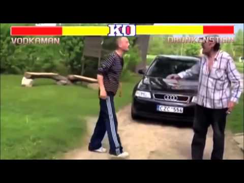 Street Fighter 2 Drunk Russian Edition – A Funny Video