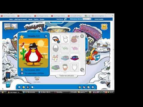 cuenta de un socio de  club penguin enero 2012
