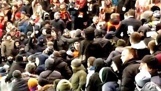 Download Video CSKA - ROMA fans clash 07.11.18 MP3 3GP MP4