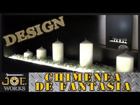 Increible Chimenea de fantasia para iluminar a todo lujo tu hogar | JOE Works