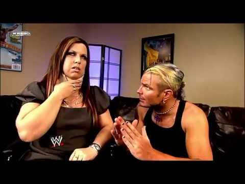 Jeff Hardy And Vickie Guerrero Backstage Smackdown 11th November 2008