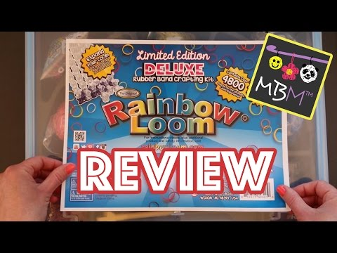 Rainbow Loom Limited Edition Deluxe Rubber Band Crafting Kit – Review