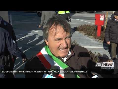 20/01/2020   SPUTI E INSULTI RAZZISTI IN TRENO ALLA STUDENTESSA ORIENTALE