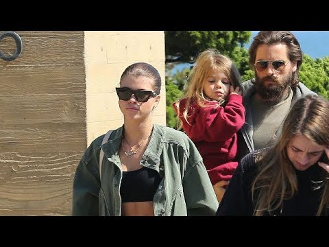 Scott Disick And Sofia Richie Spend Father's Day In Malibu With The Kids