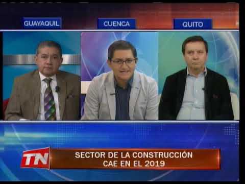 Sector de la construcción cae en el 2019