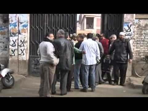 FORMER LEADERS VOTE IN EGYPT CONSTITUTIONAL REFERENDUM