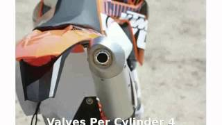 7. 2012 KTM XC 450 W Top Speed