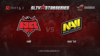 HR vs Na'Vi, game 2
