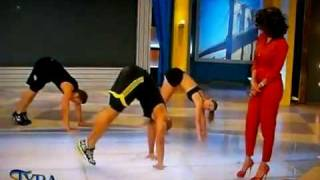 Shaun T. Does Insanity on the Tyra Banks Show - YouTube