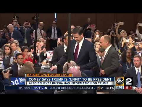 Comey says Trump is 'unfit' to be President in exclusive ABC interview