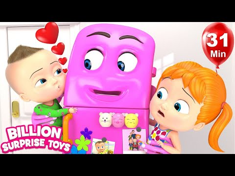 Refrigerator song | +More Nursery Rhymes & Kids Songs | Learn with BST