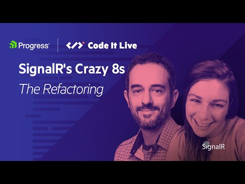 SignalR Crazy8s: The Refactoring | C#9 Features
